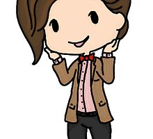 The Eleventh Doctor by clevernessofyou