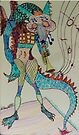 Jazzy Dragon by Sandra Gray