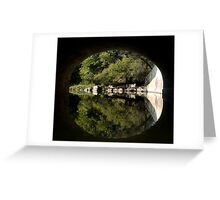 Seine River Tunnel Greeting Card