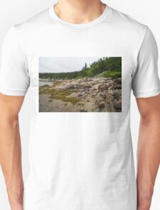 Low Tide - Walking on the Bottom of Saint Lawrence River T-Shirt