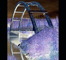 """""""Old Bridge"""" by Maj-Britt Simble"""