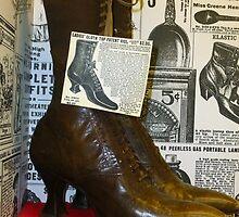 Vintage Shoes by WildestArt