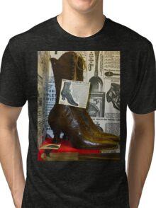Vintage Shoes Tri-blend T-Shirt