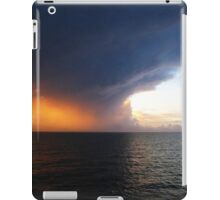 Cyclone Sunset at Sea off Darwin iPad Case/Skin
