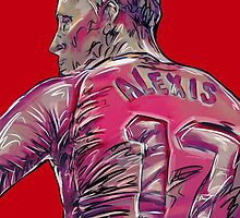 Alexis Sanchez by ArsenalArtz