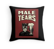Male Tears: Catwoman Throw Pillow