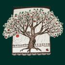 Apple Tree Tee by eleveneleven