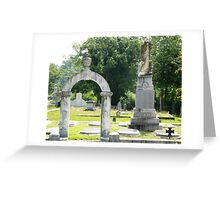 Mary Protects Confederate Col. Reed Greeting Card