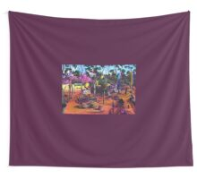 GYMPIE MUSTER - the CROWBAR Wall Tapestry
