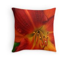 Red Seduction 2/3 Throw Pillow