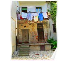 Washday in Verbania Poster
