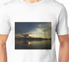 Evening Approaches at Sea in Indonesia Unisex T-Shirt