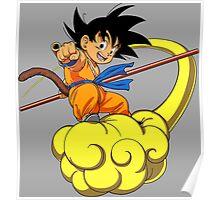 dragon ball z goku kakarot anime manga shirt Poster