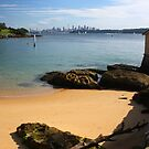 View from Camp Cove to the city by Martyn Baker | Martyn Baker Photography