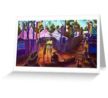 GYMPIE MUSTER - 25TH COLLECTION - MUSTER BAR Greeting Card