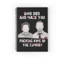 Shaun of the Dead Spiral Notebook
