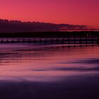 Aberdeen beach before sunrise by Gabor Pozsgai