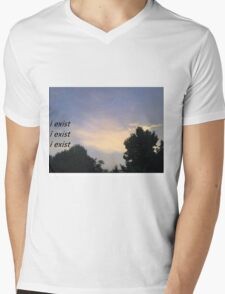 i exist x3 Mens V-Neck T-Shirt
