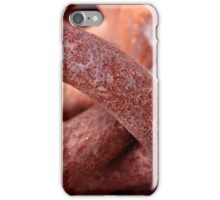 Rusty links iPhone Case/Skin