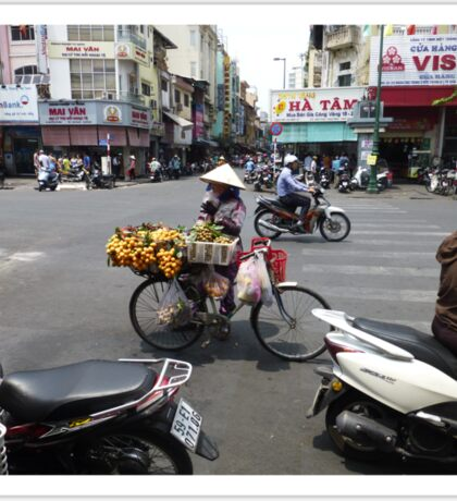 Bicycle Fruit Shop in Ho Chi Minh City Sticker