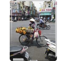 Bicycle Fruit Shop in Ho Chi Minh City iPad Case/Skin