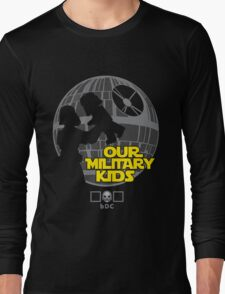 Our Military Kids Long Sleeve T-Shirt
