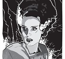 Bride of Frankenstein by Matt Fontaine