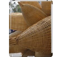 Decorative Vietnamese Fishtrap Baskets iPad Case/Skin