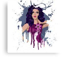 A Patch of Violet  Canvas Print