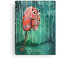 The Hobby Horse Canvas Print
