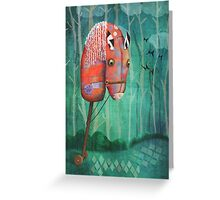 The Hobby Horse Greeting Card