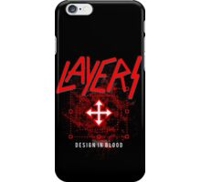 Layers - Design In Blood iPhone Case/Skin