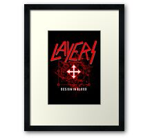 Layers - Design In Blood Framed Print