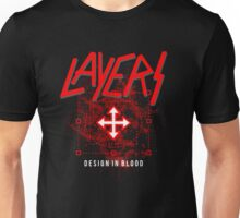 Layers - Design In Blood Unisex T-Shirt