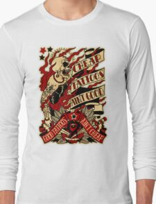 Informative Signs - Cheap tattoo aint good Long Sleeve T-Shirt