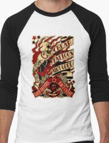 Informative Signs - Cheap tattoo aint good Men's Baseball ¾ T-Shirt