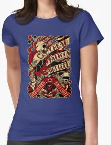 Informative Signs - Cheap tattoo aint good Womens Fitted T-Shirt
