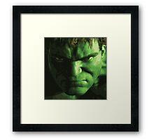 Hulk Framed Print