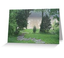 Tributary Greeting Card