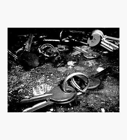 Under Lock and Key ~ West Park Asylum Photographic Print