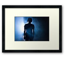 Mystery through the Night Framed Print