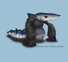 Sharkhead Gorilla-piller by Chris Harrendence