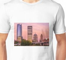 Oklahoma City Downtown Skyline at sunrise Unisex T-Shirt