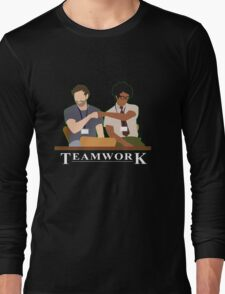 IT Crowd Teamwork Long Sleeve T-Shirt