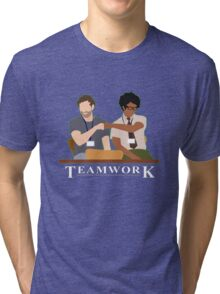 IT Crowd Teamwork Tri-blend T-Shirt