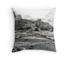 Landmark Theatre . Throw Pillow