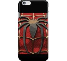 Spider Man Chest Plate iPhone Case/Skin