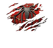 Spider-Man Torn Design by riskeybr