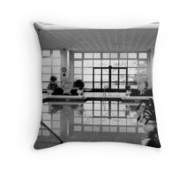 Indoor Pool - CAESAR'S   ^ Throw Pillow
