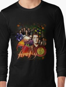 Firefly Cast Collage Long Sleeve T-Shirt